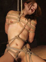Humiliating of women, BDSM clipping and forced sex