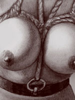 BW BDSM pictures of high Art quality