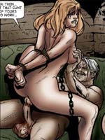 TEMPLETON'S ADULT COMIC Trapped Heiress